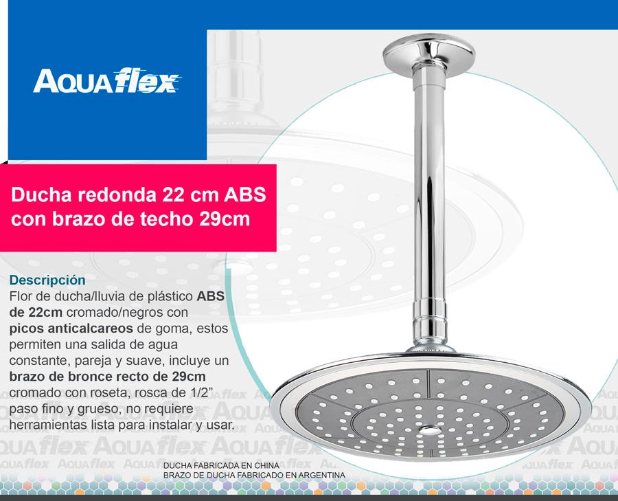 Aquaflex accesorios para el hogar y el jardin home and for Ducha de lluvia techo